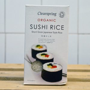 Clearspring Organic Sushi Rice – 500g