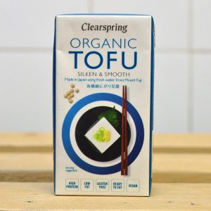 Clearspring Organic Silken Tofu – 300g
