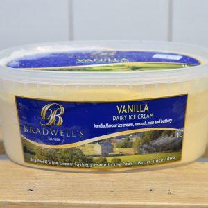 Bradwells Vanilla Ice Cream – 1l