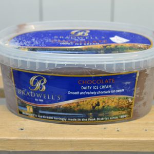 Bradwells Chocolate Ice Cream – 1l