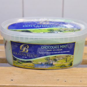 Bradwells Chocolate Mint Ice Cream – 1l