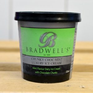 Bradwells Chocolate Mint Ice Cream – 125ml