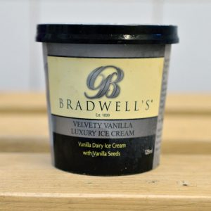 Bradwells Vanilla Ice Cream – 125ml