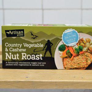 Artisan Grains Country Veg Nut Roast – 200g