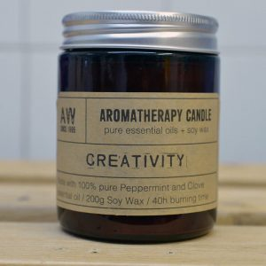 AW Aromatherapy Candle Creativity – Peppermint/Clove