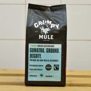 Grumpy Mule Ground Sumatra Coffee – 227g