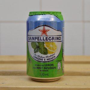 San Pellegrino Lemon Mint – 330ml
