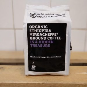 Equal Exchange Organic Ethiopian Yirga Ground Coffee – 227g