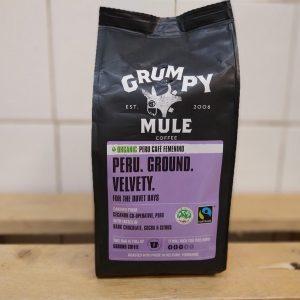 Grumpy Mule Ground Femenino Peru Coffee – 227g