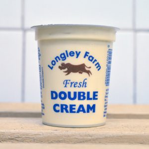 Longley Farm Double Cream – 150ml