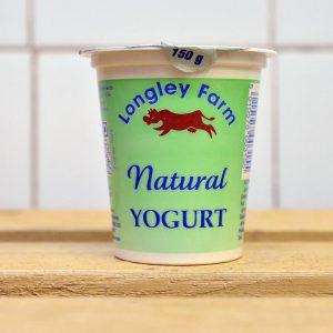 50% off-Longley Farm Natural Yoghurt – 150g