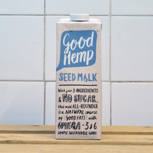Good Hemp Creamy Seed Milk – 1l
