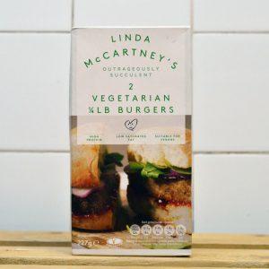 LINDA McCARTNEY 2x Veg 1/4lb Burgers