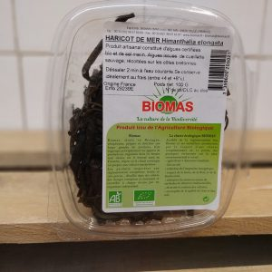 Fresh Organic Seaweed Punnet (Haricot De Mer) – 100g (France)