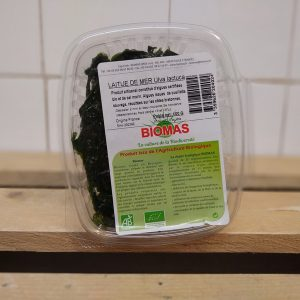 Fresh Organic Seaweed Punnet (Sea Lettuce) – 100g