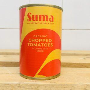 10% OFF – SUMA Organic Chopped Tomatoes – 400g