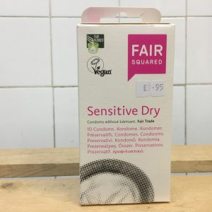 10% Off Fair Squared Condoms Sensitive Dry – 10 pack