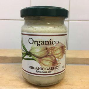 Organico Organic Aegan Garlic Spread – 140g