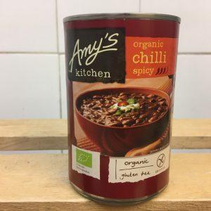Amy's Kitchen Tin Spicy Chilli – 416g