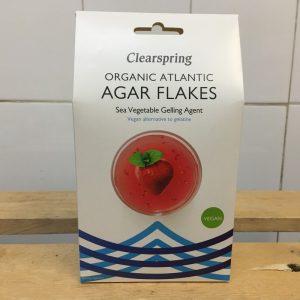 ClearSpring Organic Agar Flakes – 30g