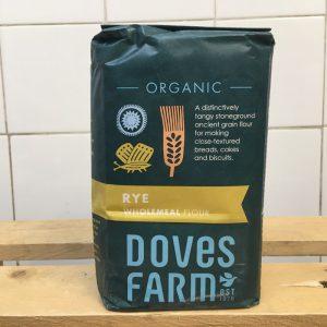 Doves Rye Wholemeal Flour – 1kg