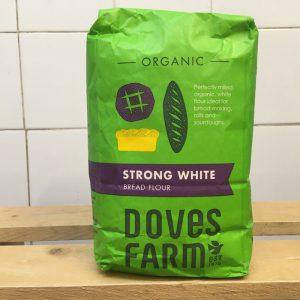 Doves Plain White Bread Flour – 1.5kg