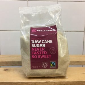 Equal Exchange Organic Raw Cane Sugar – 500g