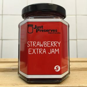 Just Preserves Local Strawberry Jam – 340g
