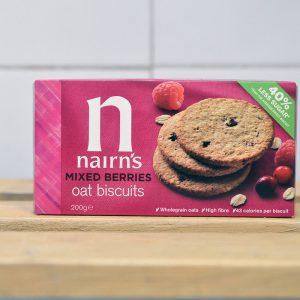 Nairns Mixed Berries Oat Biscuits – 200g
