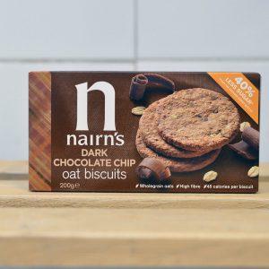 Nairns Dark Chocolate Chip Biscuits – 200g