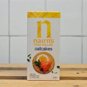 Nairns Savoury Fine Oatcake – 218g