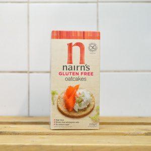 Nairns Gluten Free Savoury Oatcake – 213g