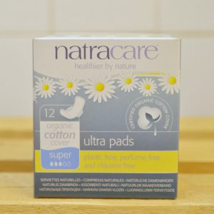 10% – NATRACARE Ultra Super Pads – 12 Pack