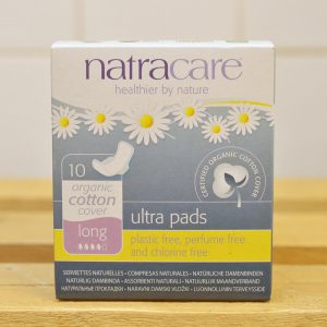 NATRACARE Ultra Pad Organic Cotton Long