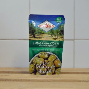 Crespo Pitted Green Olives – 70g