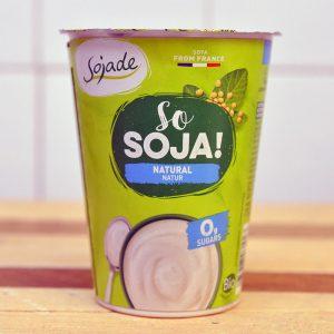 Sojade Organic Plain Soya Yoghurt – 400g