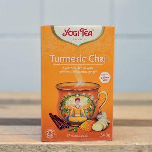 Yogi Turmeric Chai Tea – 17 Bags