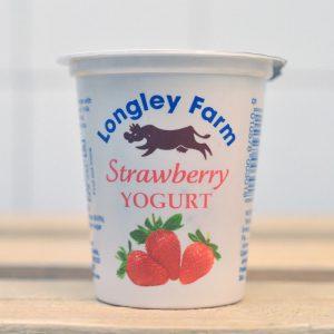 Longley Farm Mini Yoghurt (Strawberry) – 150g