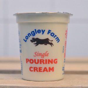 Longley Farm Single Pouring Cream – 150ml