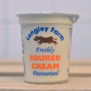 Longley Farm Sour Cream – 150ml