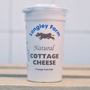 Longley Farm Natural Cottage Cheese – 250g