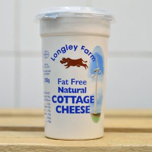 Longley Farm Fat Free Cottage Cheese – 250g