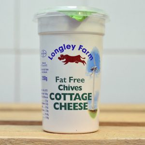 Longley Farm Low Fat w/ Chives Cottage Cheese – 250g
