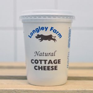 Longley Farm Natural Cottage Cheese – 450g