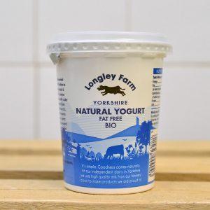 Longley Farm Live Fat Free Yoghurt – 450g