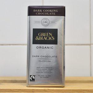 Green & Blacks Organic Dark Cooking Chocolate – 150g