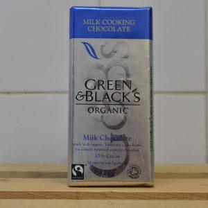 Cooking Chocolate (Milk Choc)