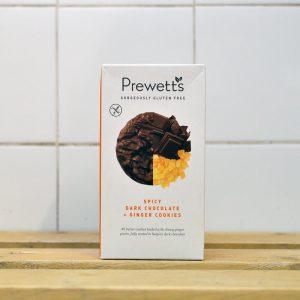 Prewetts Gluten Free Dark Choc Ginger Cookies – 150g