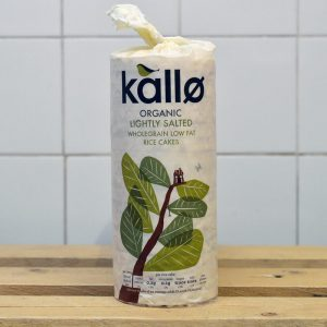 Kallo Organic Lightly Salted Rice Cakes – 130g