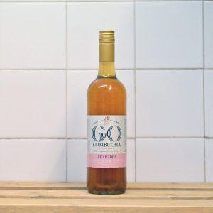 GO Kombucha Organic Red Puerh Drink – 750ml
